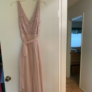 ADRIANNA PAPPEL pink formal dress